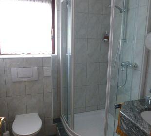 Badezimmer / Dusche Hotel Post