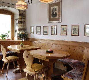 Romantische Ecke im Restaurant Swiss-Historic-Hotel Münsterhof
