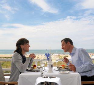 Hotelrestaurant mit Blick auf die Ostsee Hotel Neptun