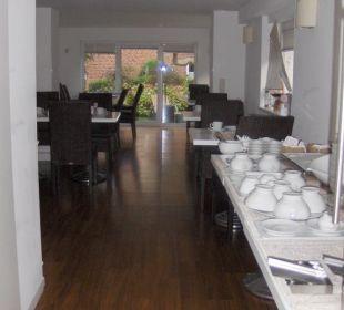 Frühstücksraum Hotel Long Island House Sylt