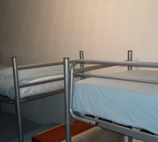 Da sollte unsere 2 jährige Sohn schlaffen Hotel Alemagna