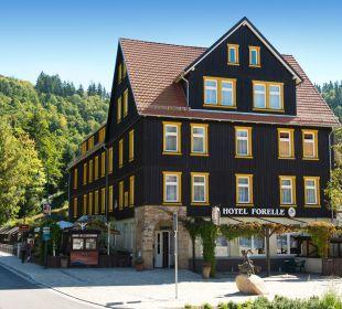 Aussenansicht Ferienhotel Forelle Hotel Forelle
