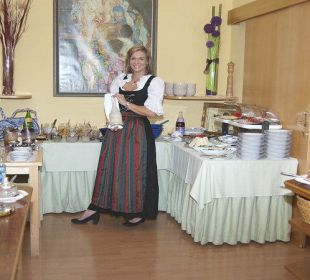 Frühstücksbuffet Hotel Kärntnerhof