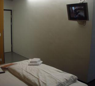 Fernseher Hotel Cube Savognin