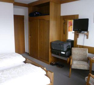 Zimmer mit Sitzecke Gästehaus Sanssouci