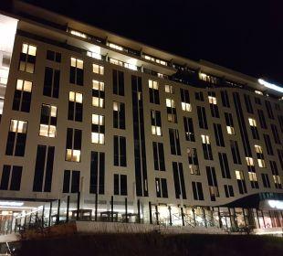 Das A-Ja Resort Warnemünde bei Nacht a-ja Warnemünde. Das Resort.