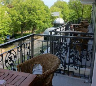 Blick von einem neuen Balkon Europa Hotel Kühlungsborn
