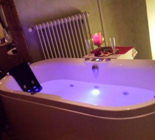 Romantikbad für 2 mit Sekt Romantik Hotel Sonne