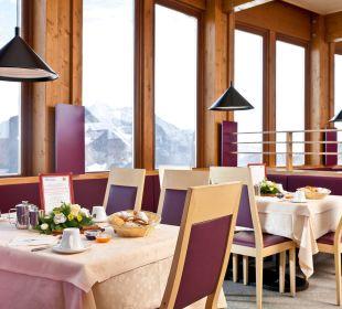 Frühstück Glacier Hotel Grawand