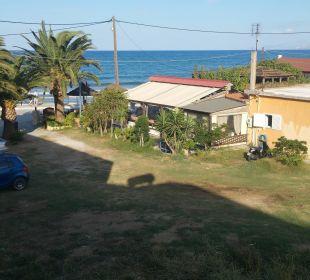 Blick von Zimmer 602  Hotel Corissia Beach
