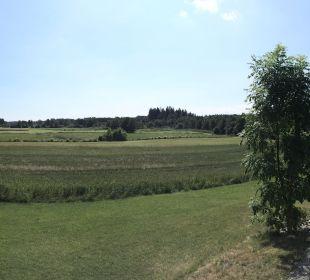 Blick südlich auf Garten Hotel Hagerhof