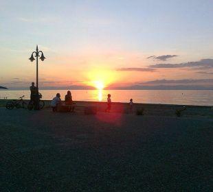 Sonnenuntergang Hotel Avra