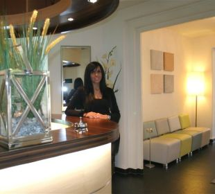 Eingangsbereich, neu renoviert 2009 Hotel Merkur
