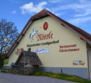 Historischer Landgasthof Rössle in Tiefenhäusern Hotel Portens Fernblick