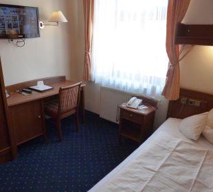 Einzelzimmer Kategorie 1 Hotel Angerbräu