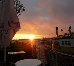 Sonnenaufgang am See Hotel Luitpold am See 1&2