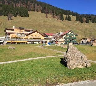 Hotel von außen Hubertus Alpin Lodge & Spa