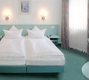 Standard- Doppelzimmer mit Schallschutzfensternfens Nichtraucher Hotel Till Eulenspiegel
