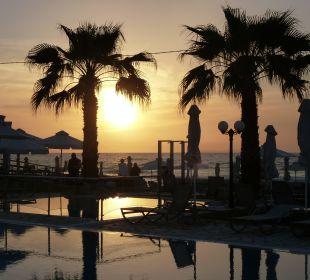 Ausblick Hotel Acharavi Beach