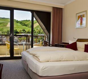 Ein Doppelzimmer  Hotel Weinhaus Mayer