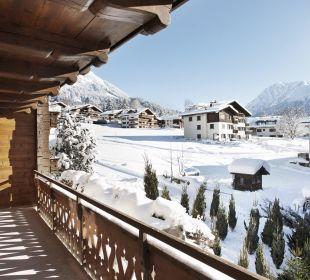 Ausblick vom Zimmer Hotel Walserhof
