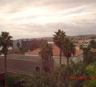 Blick vom Zimmer Lopesan Villa del Conde Resort & Spa