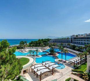 Pool und Meerblick Hotel Rixos Premium Tekirova