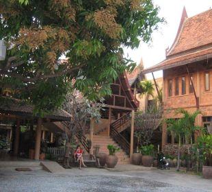 Hoteleingang Ruean Thai Hotel