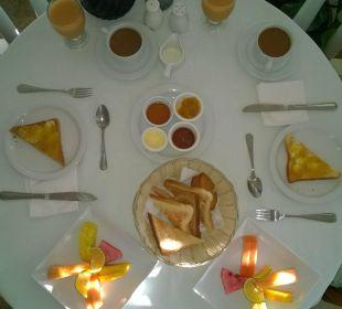 Frühstück Villa Serena