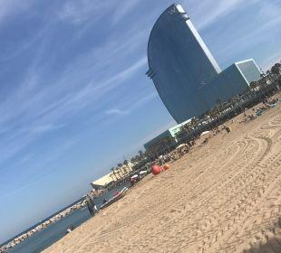Außenansicht W Barcelona Hotel
