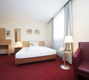 Einzelzimmer Kingsizebett Comfort Garni Hotel