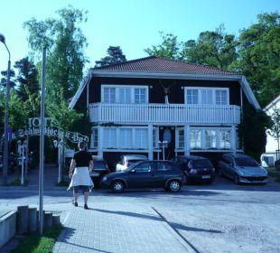 Frontansicht auf das Hotel Hotel Im Schwedischen Hof