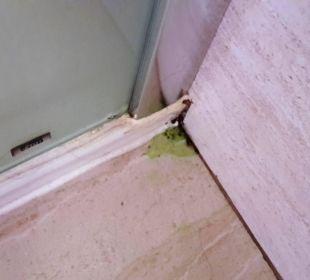 Duschwand im Bad Hotel Las Olas
