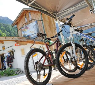 Hoteleigenes Bike Center Natur & Aktiv Resort Ötztal (Nature Resort)