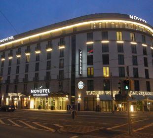 Außenansicht Novotel Nürnberg Centre Ville
