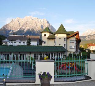 Ausblick Leading Family Hotel & Resort Alpenrose