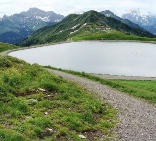 Wasser für Schneekanonen Berghotel Madlener