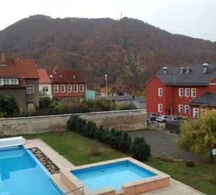 Pool Ferienpark Bodetal