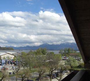 Ausblick der Panoramasuite Hotel Neuer am See