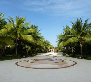 Ausblick vom World Cafe aus Secrets Maroma Beach Riviera Cancun
