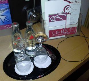 Kostenloses Wasser höchster Qualität Hotel Uhu Köln