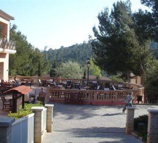 Terrasse an der Bar Hotel Don Antonio