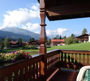 Balkonfrühstück mit Aussicht! Landhaus Franziskus