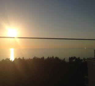 Ausblick von der Dachterrasse Strandhotel Fischland