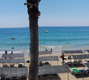 Ausblick aus dem Strandimbiss Hotel Arabella World