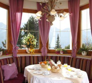 Frühstücksraum Hotel Garni Belmont
