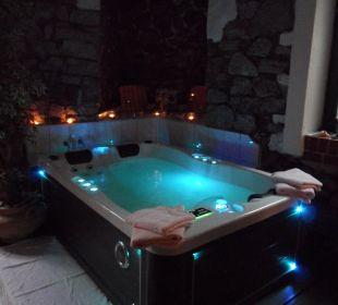 Wellnessbereich: Whirlpool Hotel Villa Alice