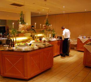 Abendbuffet im Speisesaal Hotel Neptun