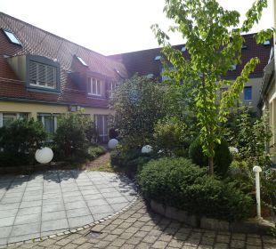 Innenhof Comfor Hotel Frauenstrasse