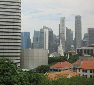 Zimmerblick Carlton Hotel Singapore